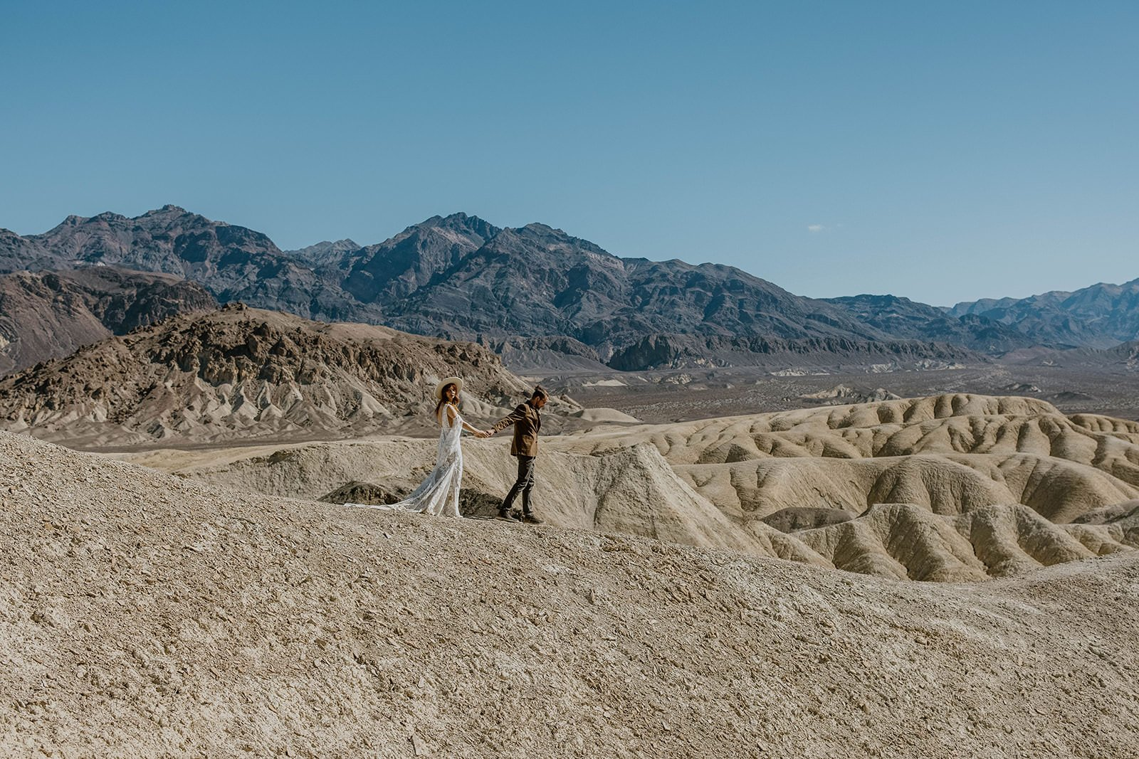 death valley in California, post elopement adventure and reasons why you should plan a post elopement photoshoot
