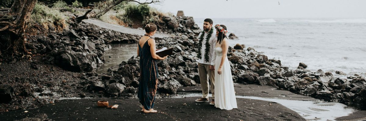 This Hawaiian Elopement Proves Getting Married In The Rain Is 100% Worth It